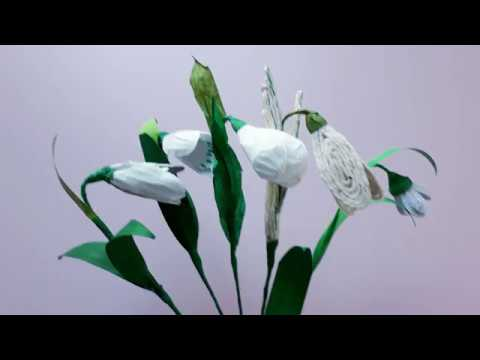Tutorial, 5 modele de ghiocei - Tutorial, 5 models of snowdrops