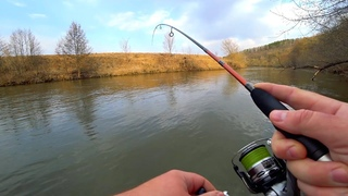 Рыбалка на малой реке с берега. Прогулка по красивейшим местам.