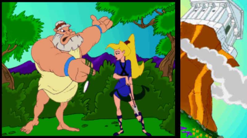 играем Herc's adventures PS1