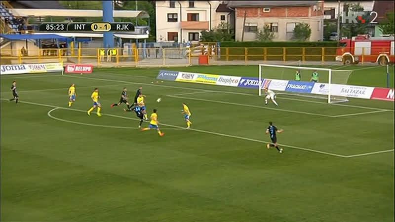 Inter-Zapresic - Rijeka 1-2, Golovi uzivo (HR kup 2018/19, poluf.), 24.04.2019. HD