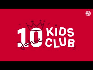 The best moments from 10 years FC Bayern Kids Club