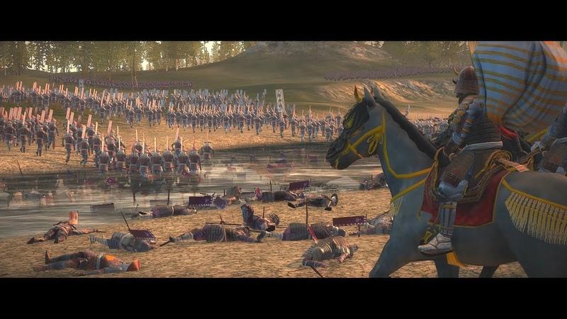 Battle of Anegawa 1570 姉川の戦い Anegawa no Tatakai Shogun 2 Total War Epic Historical Cinematic Movie