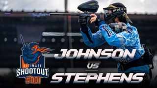 Pro 1v1 Paintball | Ultimate Shooutout 1| Clint Johnson vs. Jesse Stephens - Match 2