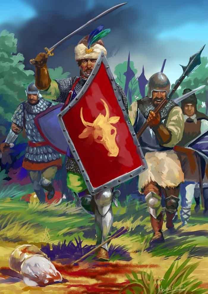 Молдавские воины