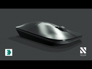 Industrial Product Design Mouse | Autodesk 3dsMax Tutorial